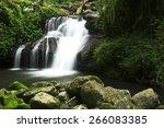 world heritage area lamington... | Shutterstock . vector #266083385