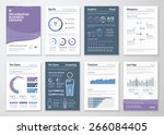 infographics vector elements... | Shutterstock .eps vector #266084405