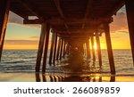 Sunset At Henley Beach   View...