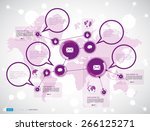 vector of illustration... | Shutterstock .eps vector #266125271