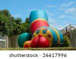 A Colorful Big Bouncing Castle...
