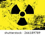 Radioactive Symbol. Radiation ...
