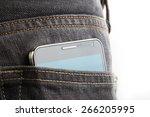 Black Big Cellphone Protrude...