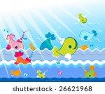 marine animals   Shutterstock . vector #26621968