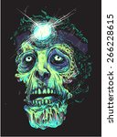 old undead | Shutterstock .eps vector #266228615