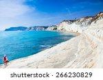 white beach. scala dei turchi... | Shutterstock . vector #266230829