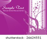 abstract purple waves...   Shutterstock .eps vector #26624551