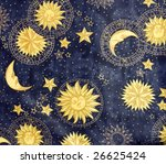 fragment of colorful retro...   Shutterstock . vector #26625424