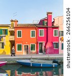 Burano  Italy   14th March 2015 ...