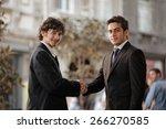 handshake | Shutterstock . vector #266270585