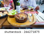 traditional cassoulet dish... | Shutterstock . vector #266271875