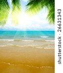 sand and ocean | Shutterstock . vector #26631343