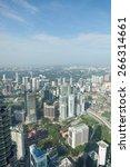 kuala lumpur  capital of... | Shutterstock . vector #266314661