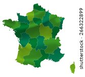france map country | Shutterstock .eps vector #266322899