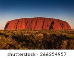 Beautiful View Of Uluru  Ayers...