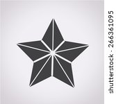 star icon | Shutterstock .eps vector #266361095