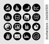 diagram icons | Shutterstock .eps vector #266365505