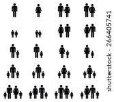 family icons set   Shutterstock .eps vector #266405741