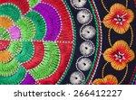Multicolor Ethnic Embroidery