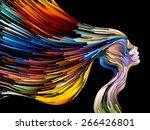 colors of imagination series.... | Shutterstock . vector #266426801