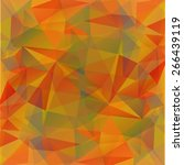 abstract polygonal pattern on a ... | Shutterstock .eps vector #266439119