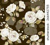 seamless pattern of vector... | Shutterstock .eps vector #266442755