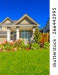 luxury house in vancouver ... | Shutterstock . vector #266442995