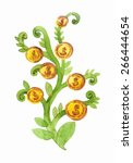 money tree    Shutterstock .eps vector #266444654