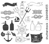 Nautical And Sea Set. Hand...