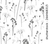 romantic pattern scanned from... | Shutterstock .eps vector #266468315