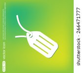 label icon button | Shutterstock .eps vector #266471777