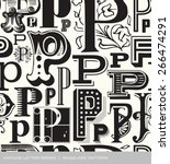 seamless vintage pattern of the ...   Shutterstock .eps vector #266474291