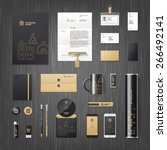vector modern corporate...   Shutterstock .eps vector #266492141
