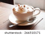 latte' art coffee | Shutterstock . vector #266510171