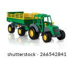 Tractor Model With The Trailer...