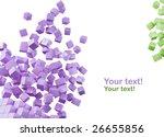 3d render of two color... | Shutterstock . vector #26655856