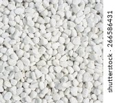 White Pebbles Background Square