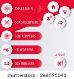 drones  copters e shop design...