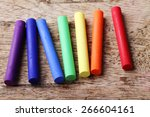 Colorful Chalk Pastels On...