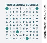 professional business ... | Shutterstock .eps vector #266670221