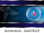 medical and hospital logo... | Shutterstock .eps vector #266678225