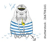 Nautical Animal Illustration ...
