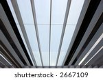 abstract office window view  ... | Shutterstock . vector #2667109