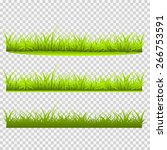 three kinds of grass vector... | Shutterstock .eps vector #266753591