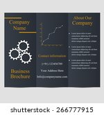 professional business three... | Shutterstock .eps vector #266777915