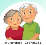 happy family | Shutterstock .eps vector #266786351