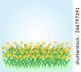 vector illustration of yellow...   Shutterstock .eps vector #266797391