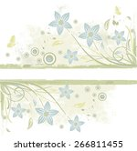 abstract grunge background with ... | Shutterstock .eps vector #266811455