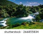 Waterfalls Krka  National Park  ...