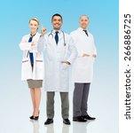 healthcare  announcement ... | Shutterstock . vector #266886725